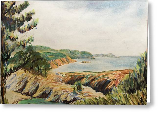 Pacific Pastels Greeting Cards - Point Lobos Greeting Card by Don Perino