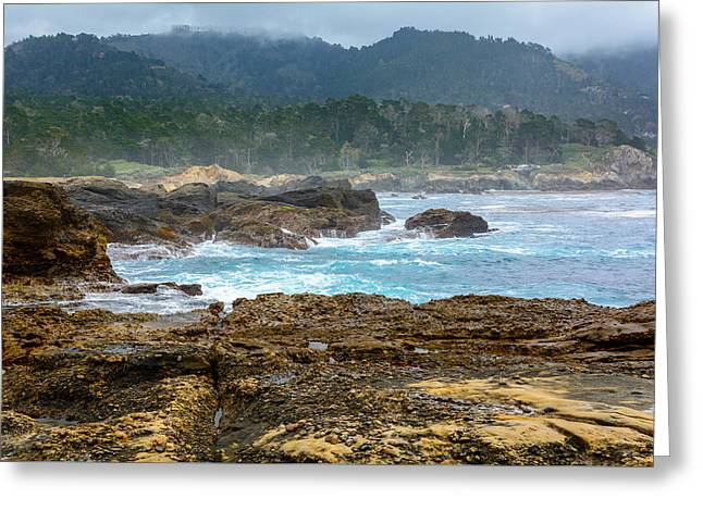 Whalers Cove Greeting Cards - Point Lobos State Natural Reserve Greeting Card by Cristi Canepa