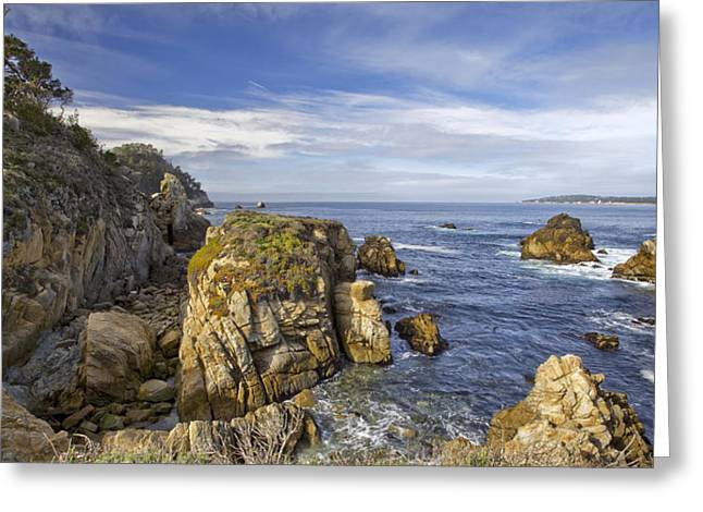 Best Sellers -  - Point Lobos Reserve Greeting Cards - Point Lobos State Reserve Greeting Card by Rick Pham