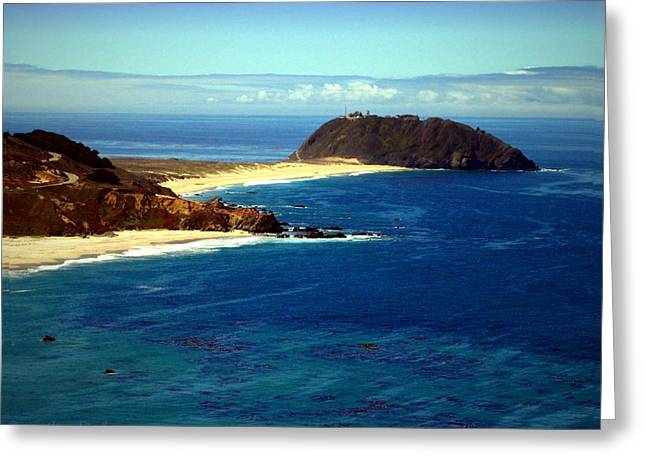 Big Sur Beach Greeting Cards - Point Sur Four Greeting Card by Joyce Dickens