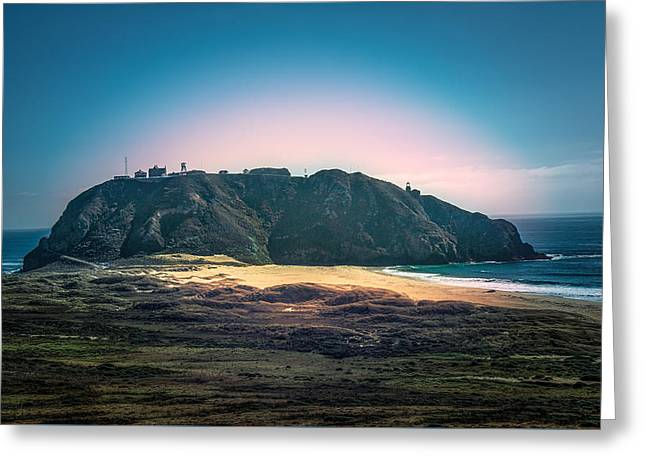 Big Sur Greeting Cards - Point Sur Lighthouse Greeting Card by Paul Sommers