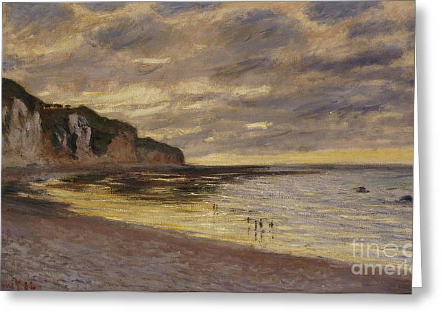 Pointe De Lailly Greeting Card by Claude Monet