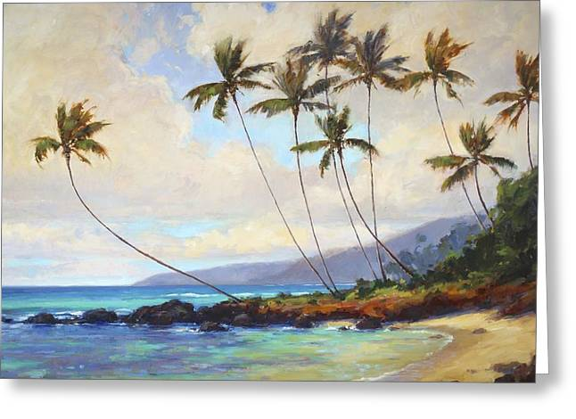 Poipu Greeting Cards - Poipu Beach  Greeting Card by Jenifer Prince