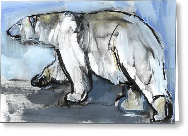 Polar Greeting Card by Mark Adlington