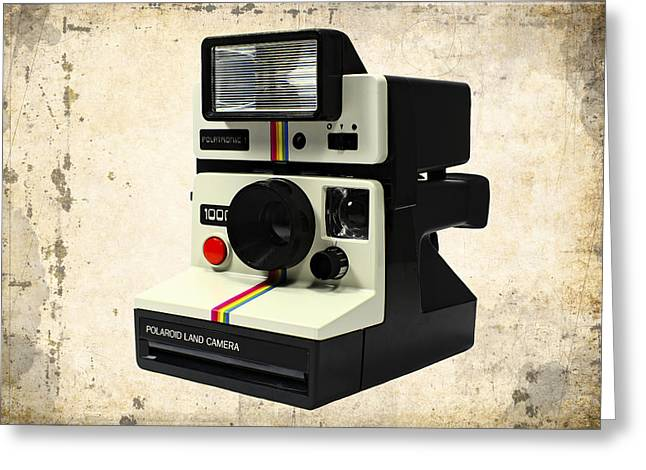 Old Camera Mixed Media Greeting Cards - Polatronic 1 Greeting Card by Daniel Hagerman
