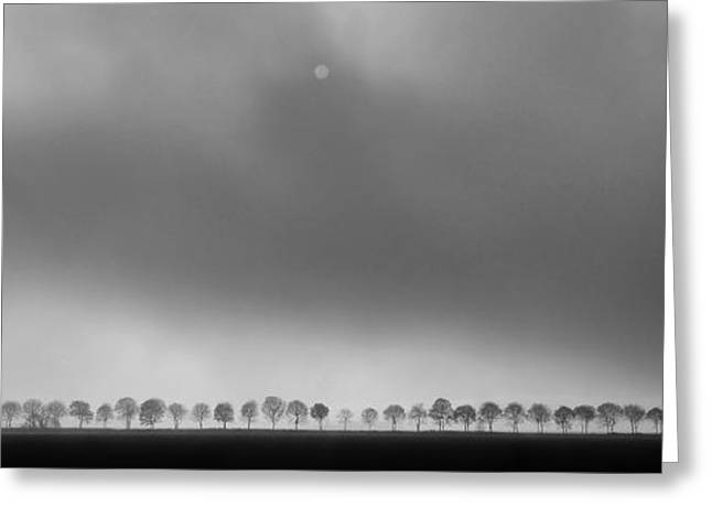 Mood Greeting Cards - Polderlandscape Greeting Card by Huib Limberg