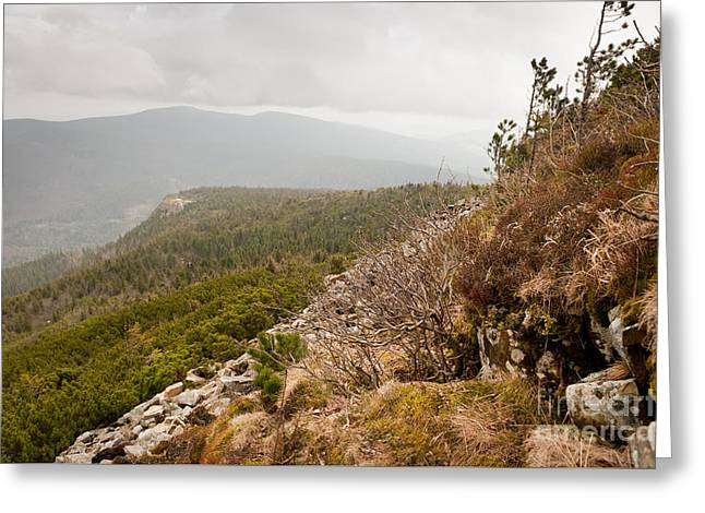 Polish Mountains Landscape Greeting Card by Arletta Cwalina