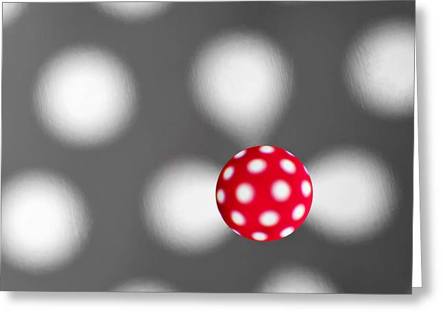 Many Greeting Cards - Polka dots Greeting Card by Atchuta Alapati