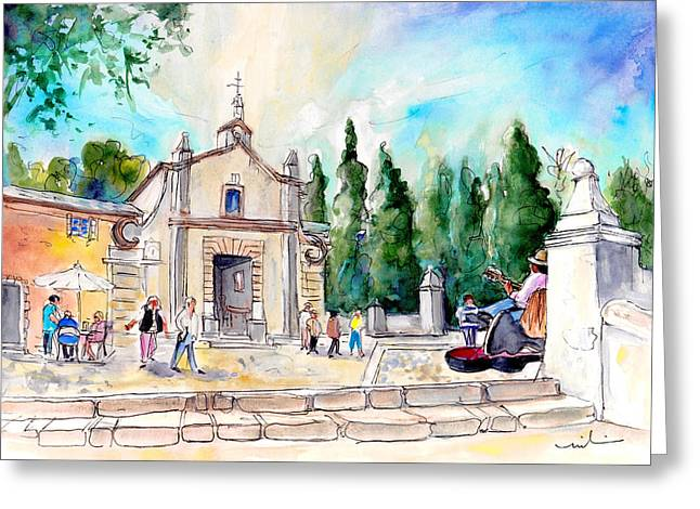Pollenca 01 Greeting Card by Miki De Goodaboom