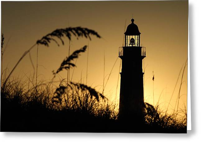 Ponce Greeting Cards - Ponce Inlet Light House Greeting Card by Rick Mann