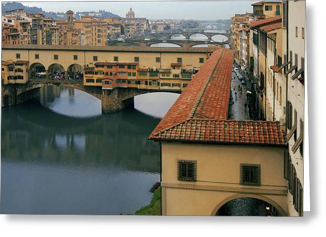 Ponte Vecchio Greeting Card by Traveler Scout