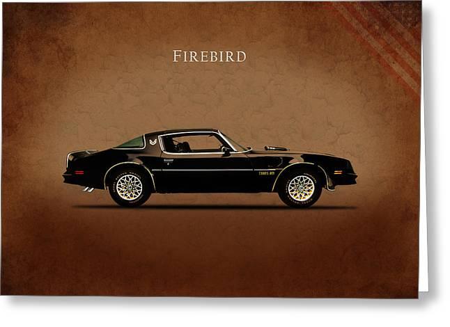 T Shirts Greeting Cards - Pontiac Firebird Greeting Card by Mark Rogan