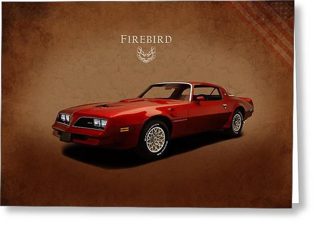 Pontiac Firebird Trans Am Greeting Card by Mark Rogan