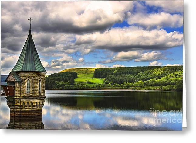 Pontsticill Greeting Cards - Pontsticill Reservoir Powis Greeting Card by Ian Lewis