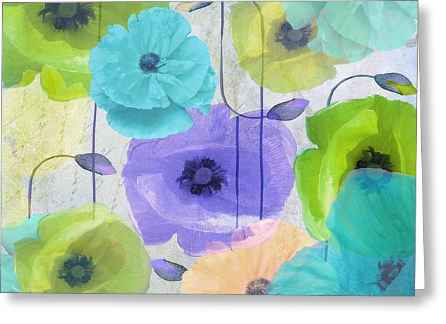 California Poppy Greeting Cards - Poppy Shimmer IV Greeting Card by Mindy Sommers