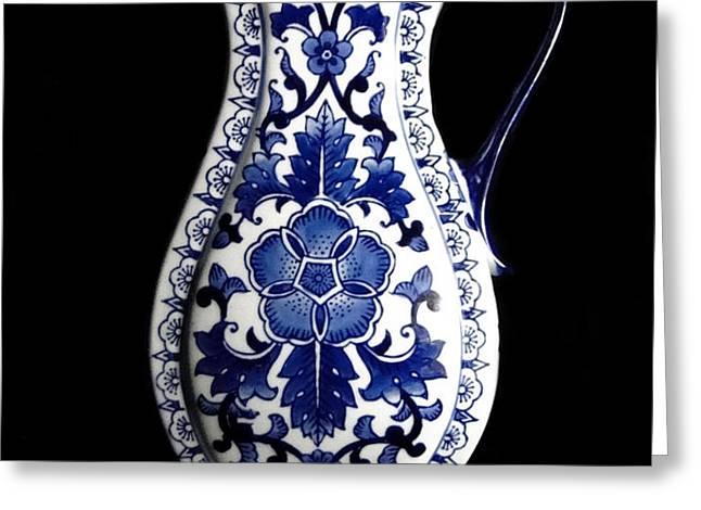 Porcelain1 Greeting Card by Jose Luis Reyes