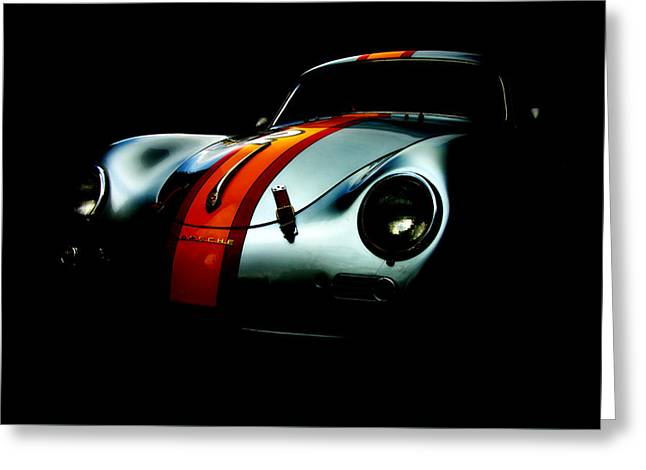 Porsche 1600 Greeting Card by Kurt Golgart