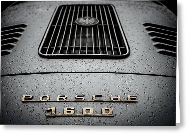 Outlaws Greeting Cards - Porsche 356 Detail Greeting Card by Douglas Pittman