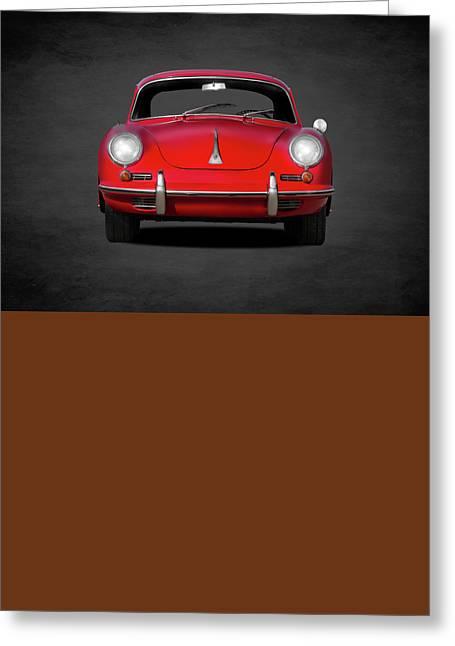 Porsche 356 Greeting Card by Mark Rogan