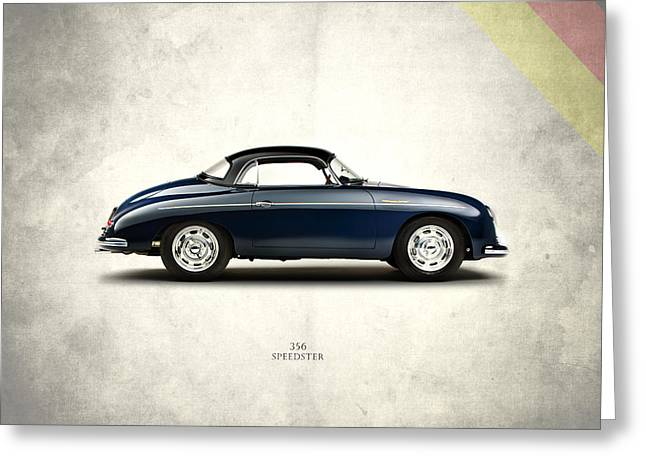 Porsche Greeting Cards - Porsche 356A 1958 Greeting Card by Mark Rogan