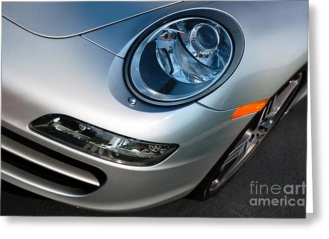 Porsche 911 Greeting Card by Paul Velgos