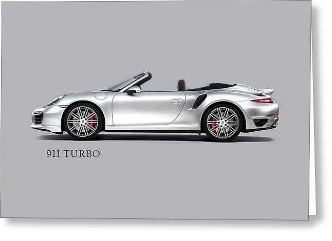 Porsche Greeting Cards - Porsche 911 Phone Case Greeting Card by Mark Rogan