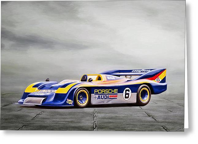 Porsche 917 Can-am Greeting Card by Peter Chilelli