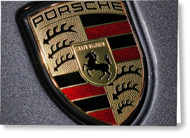 Porsche Greeting Card by Gordon Dean II