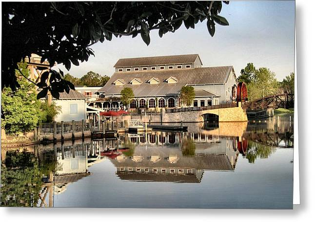 Port Orleans Riverside Greeting Card by Nora Martinez
