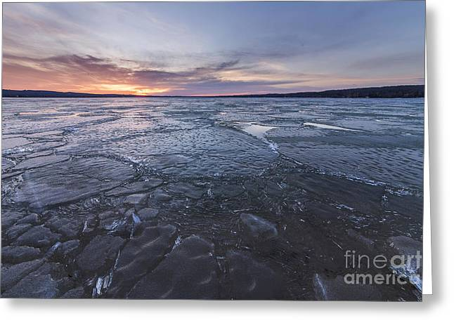 Portage Photographs Greeting Cards - Portage Lake Greeting Card by Twenty Two North Photography