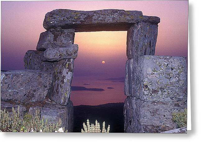 Portal Sun  Greeting Card by Andonis Katanos