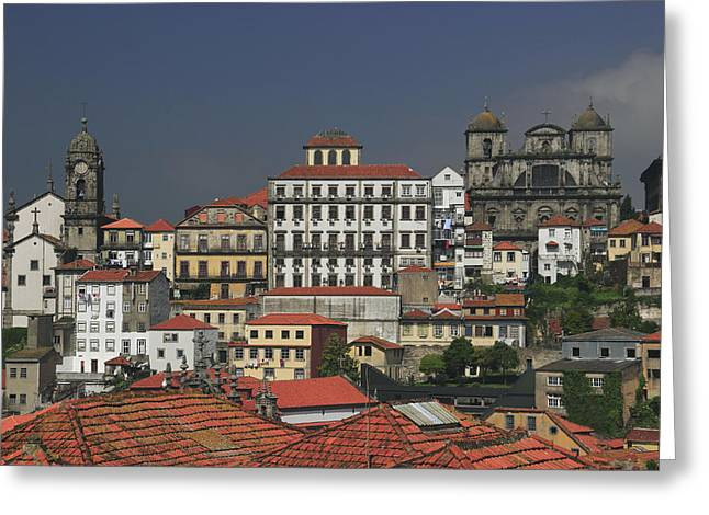 Historic Site Greeting Cards - Porto Portugal Greeting Card by Ivan Pendjakov