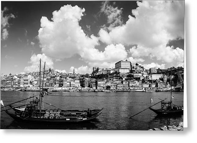 Gaia Greeting Cards - Porto Portugal Greeting Card by Vladimir Fomin