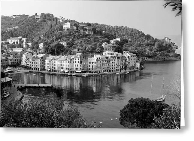 Portofino Italy Greeting Cards - Portofino Greeting Card by Antonio Gruttadauria