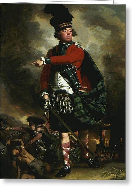Highlander Greeting Cards - Portrait of Hugh Montgomerie Greeting Card by John Singleton Copley