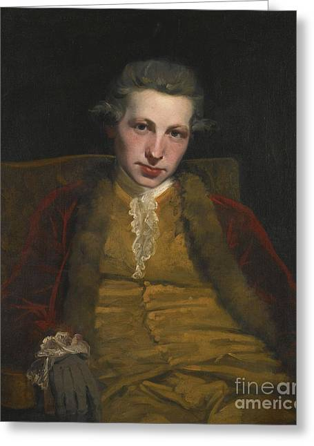 P.r Greeting Cards - Portrait Of Robert Welford Greeting Card by Joshua Reynolds