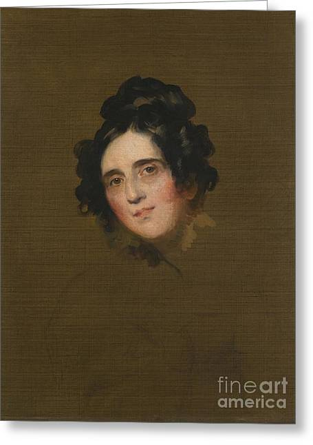 P.r Greeting Cards - Portrait Of Susan Greeting Card by Thomas Lawrence