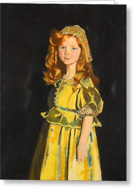 Orpen Greeting Cards - Portrait of Vivien St George Greeting Card by William Orpen