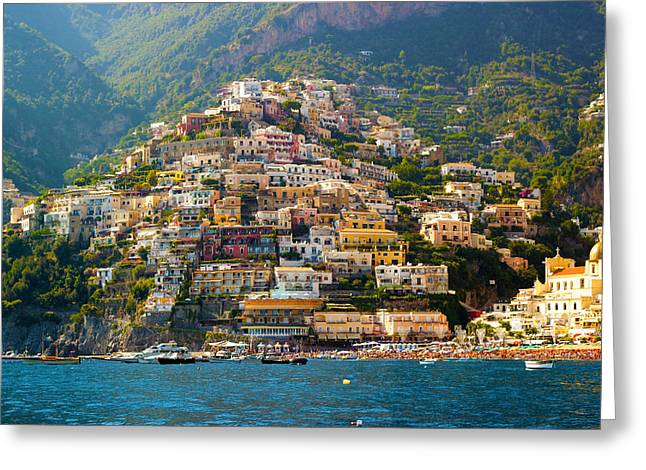 Positano  Greeting Card by Francesco Riccardo  Iacomino