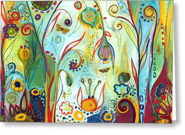 Abstract Nature Greeting Cards - Possibilities Greeting Card by Jennifer Lommers