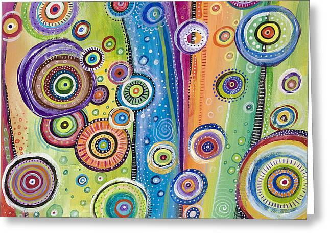 Good Energy Greeting Cards - Possibilities Greeting Card by Tanielle Childers
