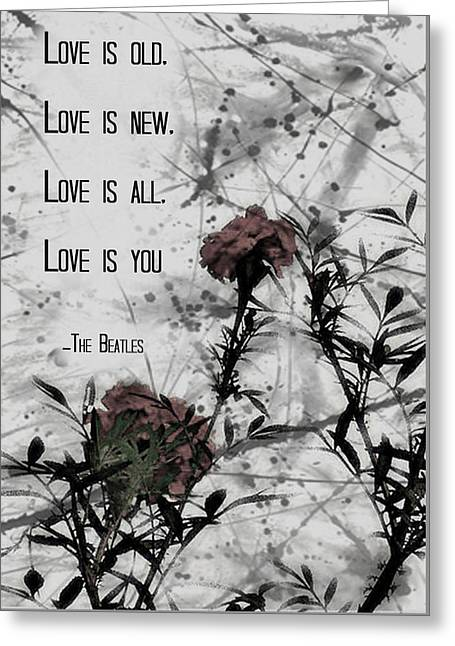 Gift Ideas For Her Greeting Cards - Poster Gift idea I LOVE Greeting Card by BestCit Art