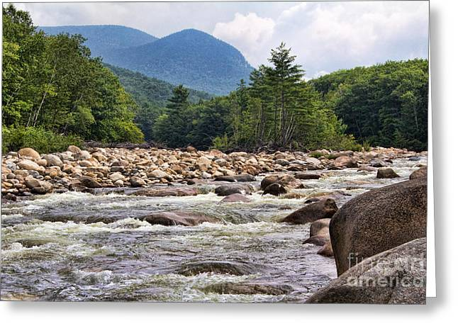 The Hills Greeting Cards - Potash Knob and the Pemi Greeting Card by Jemmy Archer