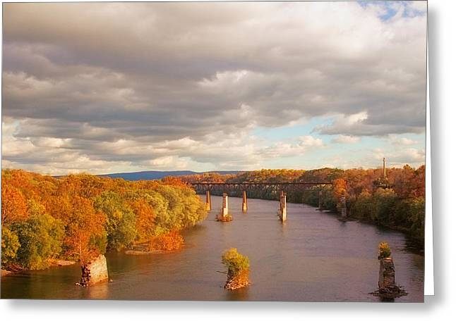 Potomac Greeting Cards - Potomac River Greeting Card by Mick Burkey