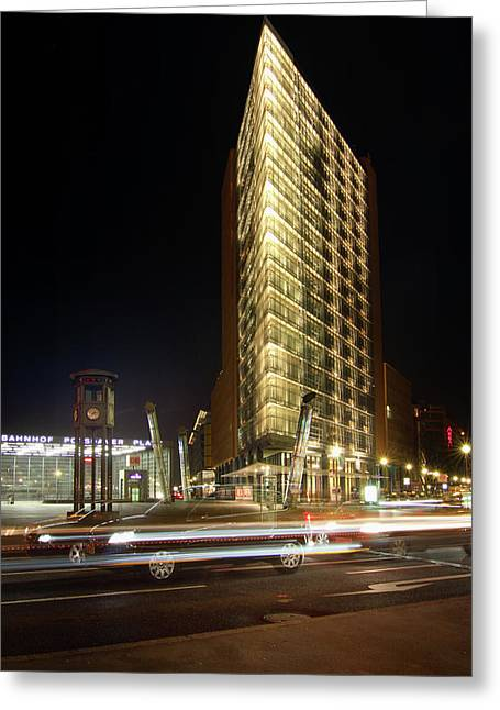 Berlin Germany Greeting Cards - Potsdamer Place II Greeting Card by Marc Huebner