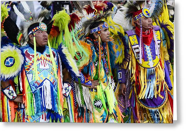Pow Wow Native Pride 1 Greeting Card by Bob Christopher