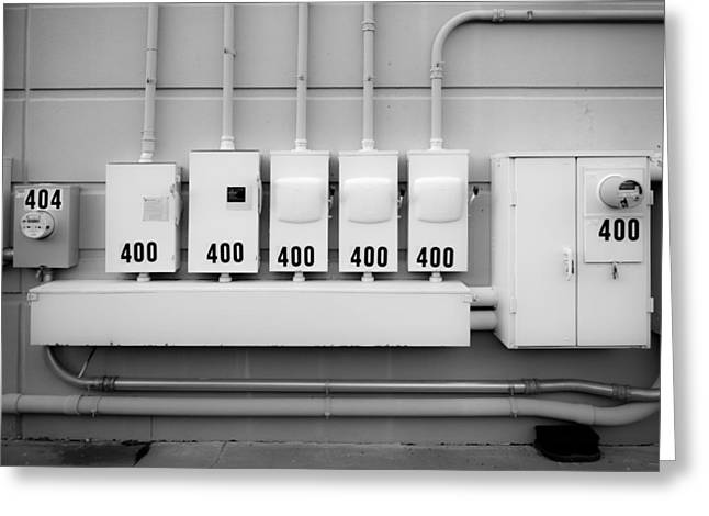 Label Greeting Cards - Power 400 Greeting Card by Erich Grant