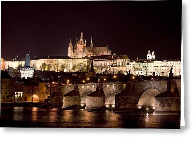 Prague Castle Greeting Cards - Prague Castle Greeting Card by Shawn Everhart