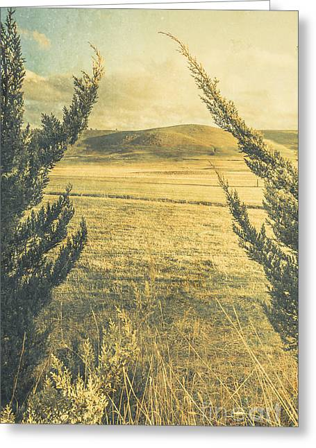 Prairie Hill Greeting Card by Jorgo Photography - Wall Art Gallery