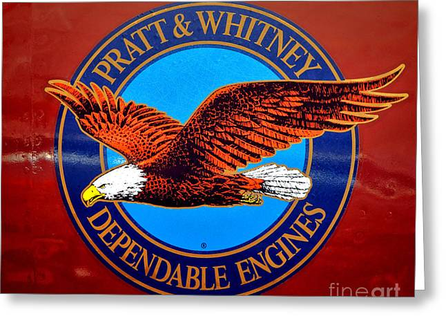 Pratt And Whitney Greeting Card by Olivier Le Queinec